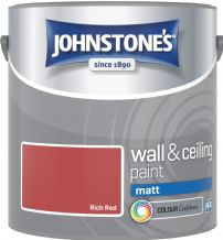 Johnstones Rich Red Coloured Emulsion